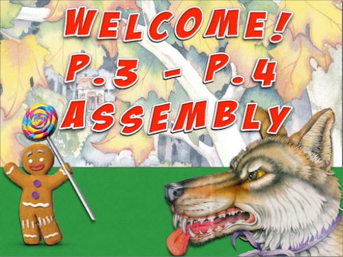 P3-4 Assembly Poster